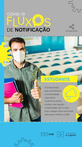 Fluxo de Notificação Estudante